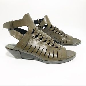 Alexander Wang. Anika leather cut out sandals